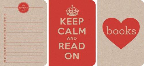 Lit series: Red Notebooks (3-Pack) (LoveLit)