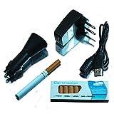 """2 x elektronische Zigarette im XXL Pack - Inhalt: 2 Zigaretten + 10 Depots mit 0,0 mg Nikotin Geschmacksrichtung Tabak """"MB"""" mit umfangreichen Zubeh�r - inklusive hochwertigem Etuivon """"ME-Communications /..."""""""
