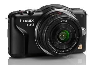 Panasonic Lumix DMC-GF3CK Kit 12.1 MP Digital Camera with 14mm Pancake Lens