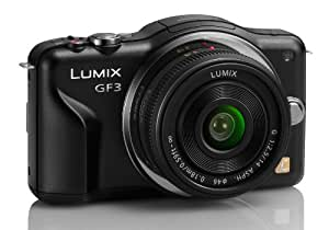 Panasonic DMC-GF3CK 12.1 MP Digital SLR with Touchscreen HD Recording Liveview (Black)