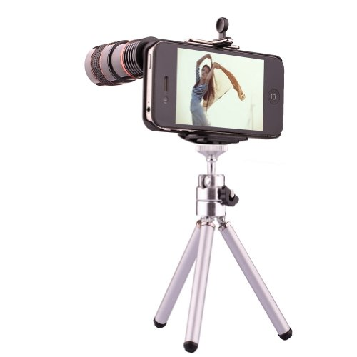 Neewer® 8X Telephoto Telescope Camera Lens Back Case Kit For Iphone 5/5S