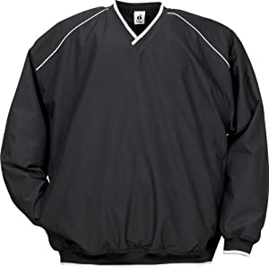 Badger 7601 Piped Microfiber Windshirt by Badger