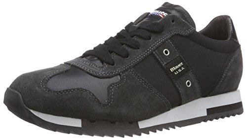 Blauer USARUNLOW/TAS - Sneaker uomo , Nero (Nero (nero)), 45