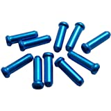 Ruler(ルーラー) ワイヤーエンドキャップ 10個入り ブルー LY-IPA03BL