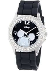 Disney Womens MK1094 Rhinestone Accent