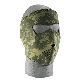 ZANheadgear Digital ACU Neoprene Face Mask (Camouflage)