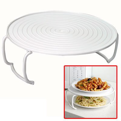 3 in 1 Microwave Tray, Multi-functional Plate Stacker, Colors may vary (Hot Plate Rack compare prices)