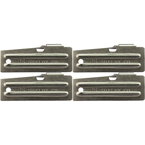 Military Survival Kit Can Opener, P-51, US Shelby Co. (Pack of 4) (Gi Can Opener compare prices)
