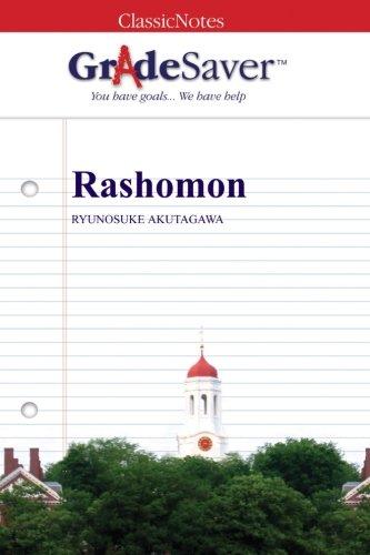 rashomon essay questions gradesaver section navigation home study guides rashomon essay questions rashomon study guide