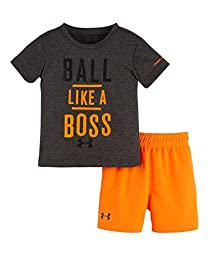 Under Armour Baby Ball Like A Boss Set, Carbon Heather, 24 Months