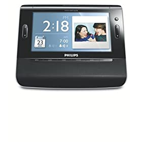 Philips AJL308 Digital Frame Clock Radio