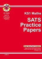 KS1 Maths SATs Practice Papers - Level 2: Level 2 (Bookshop) Pt. 1 & 2