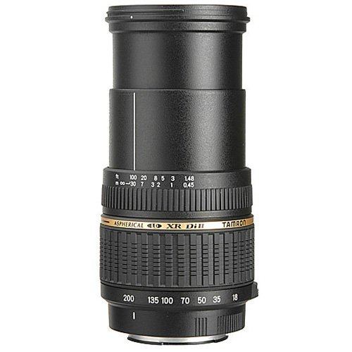 Tamron AF 18-200mm F/3.5-6.3 XR Di II LD Aspherical [IF] Macro Lens for Pentax