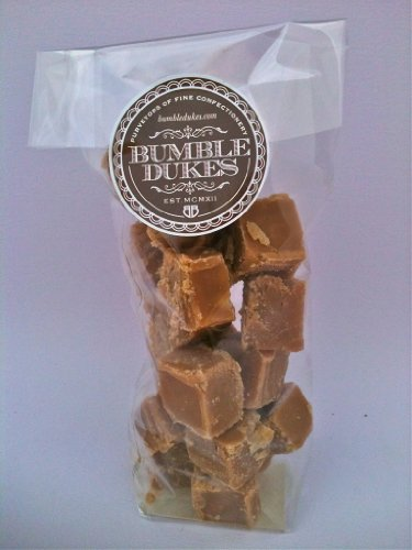 BUMBLEDUKES SOMERSET CIDER BRANDY FUDGE - 260G BAG