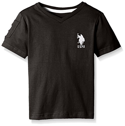us-polo-assn-big-boys-solid-v-neck-t-shirt-black-white-14-16