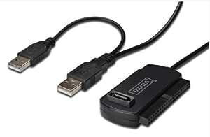 DIGITUS USB 2.0 Adapterkabel auf SATA/IDE