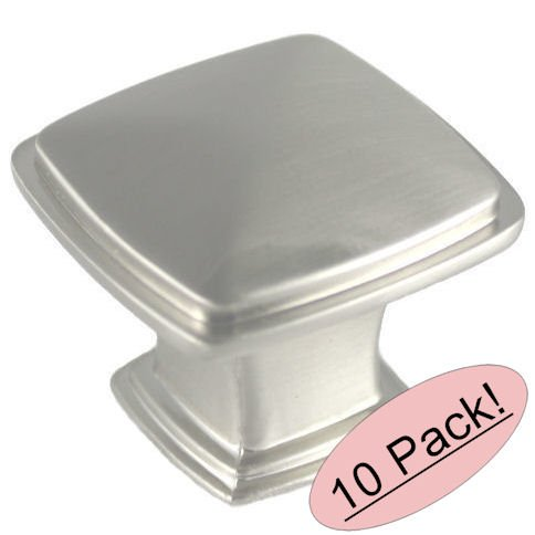 Cosmas® 4391SN Satin Nickel Modern Cabinet Hardware Knob - 1-1/4