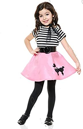 Toddler Poodle 50's Costume - Toddler 2-4t