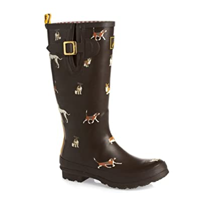 Joules O_Wellyprint Wellington Boots