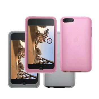 2 Silicone Cases / Skins / Covers for Apple iPod Touch 2nd (2G) & 3rd (3G)