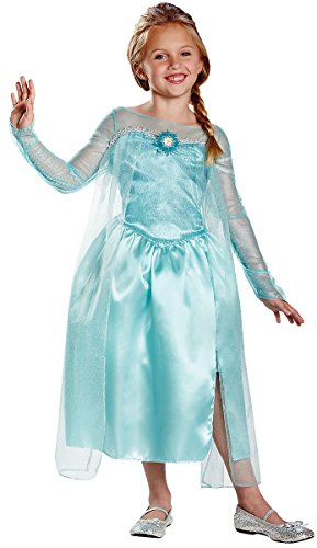 76906 (7-8) Elsa Snow Queen Gown Classic Frozen Costume