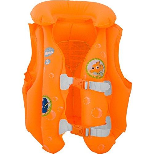 AQUA-SPEED® NEMO Schwimmkollektion (Babys/Kleinkinder 0-12 Monate bzw. 3-6 Jahre Disney Pixar Wassersitz/Schwimmsitz Schwimmbrett/Kickboard Schwimmring Schwimmflügel Schwimmweste) + UP®-Schlüsselband