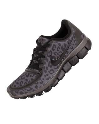 Nike Wmns Free 5.0 V4 Leopard - Dark Grey (511281-013) womens Shoes
