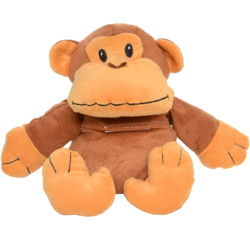 Cuddle Ins Warm Hugs Monkey With Microwavable Wheat And Lavender Seeds Cushion