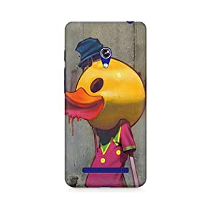 Mobicture Cartoon Premium Designer Mobile Back Case Cover For Asus Zenfone Go