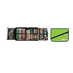 BLUM School Gear, Grade 2-4 All-In-One, Hot Pink/Purple Trim (260-11010)