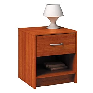 Bedside table storage cabinet chest bedroom furniture side table