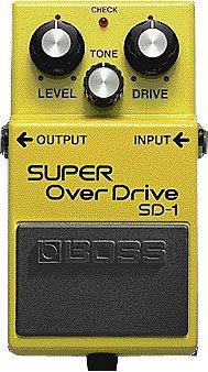 BOSS オーバードライブSUPER OverDrive スーパーオーバードライブ SD-1(T)