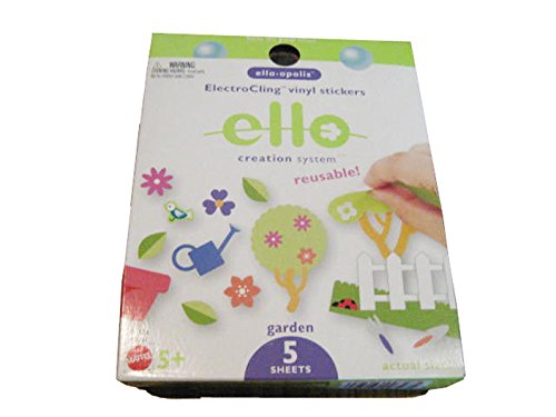 New Ello Creation System, Electrocling Vinyl Stickers: Garden front-784553