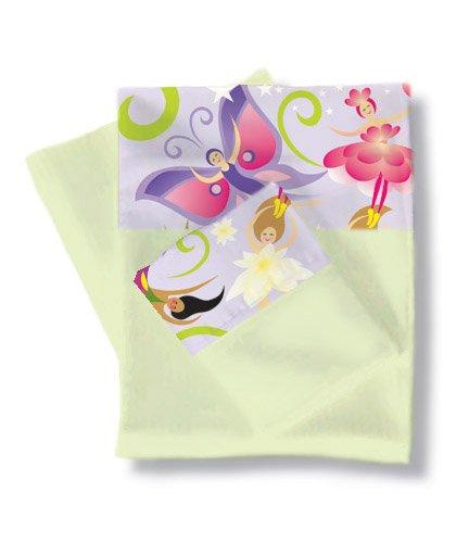 Room Magic RM04-MG Twin Sheets/Pillowcase Set, Magic Garden