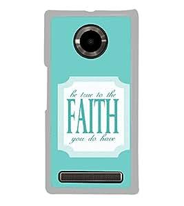 ifasho Designer Phone Back Case Cover YU Yuphoria :: YU Yuphoria YU5010 ( Bull Prisma Type )