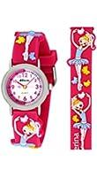 Ravel Funtime 3D Ballerina Design Time Teacher Pink Strap Kids Watch R1513.73