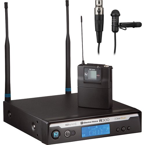 Electro-Voice R300-L Lapel System, Ulm18 Directional Microphone