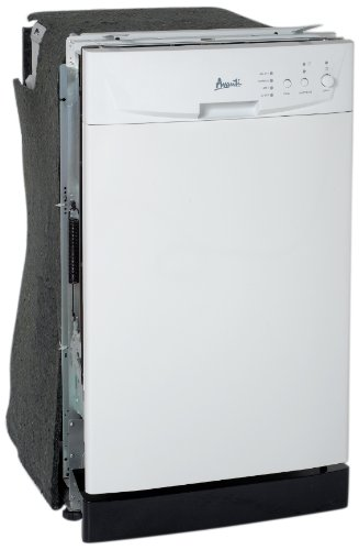 Avanti Model DWE1800W Built-In Dishwasher, White