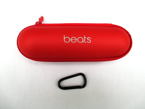 Red Replacement Hard Case For Beats By Dre Pill Speaker