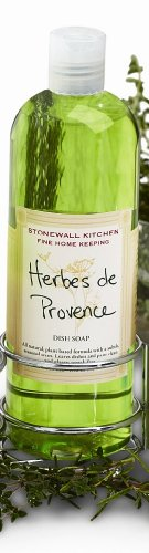 Stonewall Kitchen Herbes De Provence Dish Soap, 17.6-Ounce Bottles (Pack of 2)