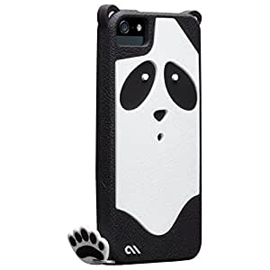 Casemate Animal Shaped Clip-On Case Cover with Footprint Charm for iPhone 5/5S - Xing Panda