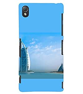 PRINTSWAG BUILDING Designer Back Cover Case for SONY XPERIA Z3