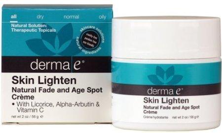 Derma E Skin Lighten Natural Age Spot Creme 2 Oz (2 Pack)