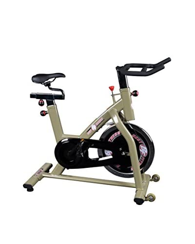 Best Fitness Indoor Training Cycle, Champagne/Black