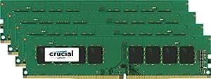 Crucial 32GB Kit (8GBx4) DDR4-2133 (PC4-17000) DR