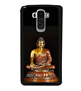 printtech Lord Buddha Back Case Cover for LG G4 Stylus ,Versions: H631 (T-Mobile); MS631 (Metro PCS); H635 (EMEA); H540 (UAE); H630D (India); H542 (Mexico)