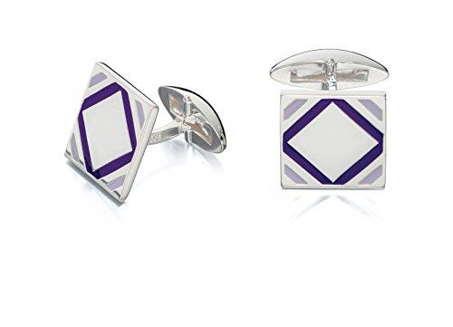 Fred-Bennett-Purple-Epoxy-Square-Cufflinks
