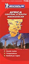 Michelin Africa Central & South, Madagascar (Michelin Map)
