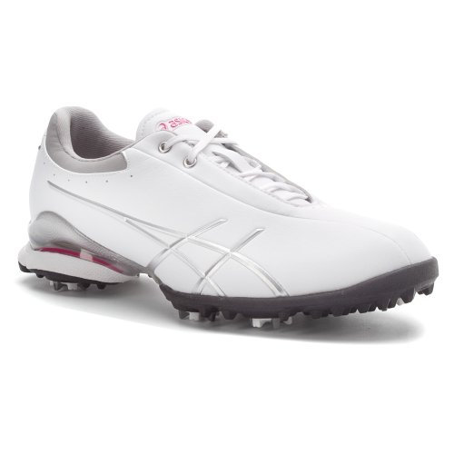 asics s gel ace thea golf shoe white silver 8 5 m us