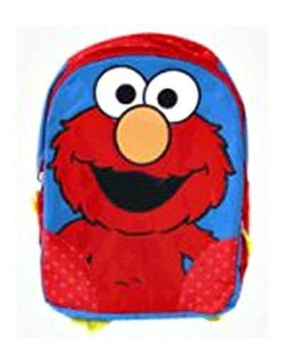 Sesame Street-Elmo Borsa Scuola Zaino per bambini, 40x 30x 10cm